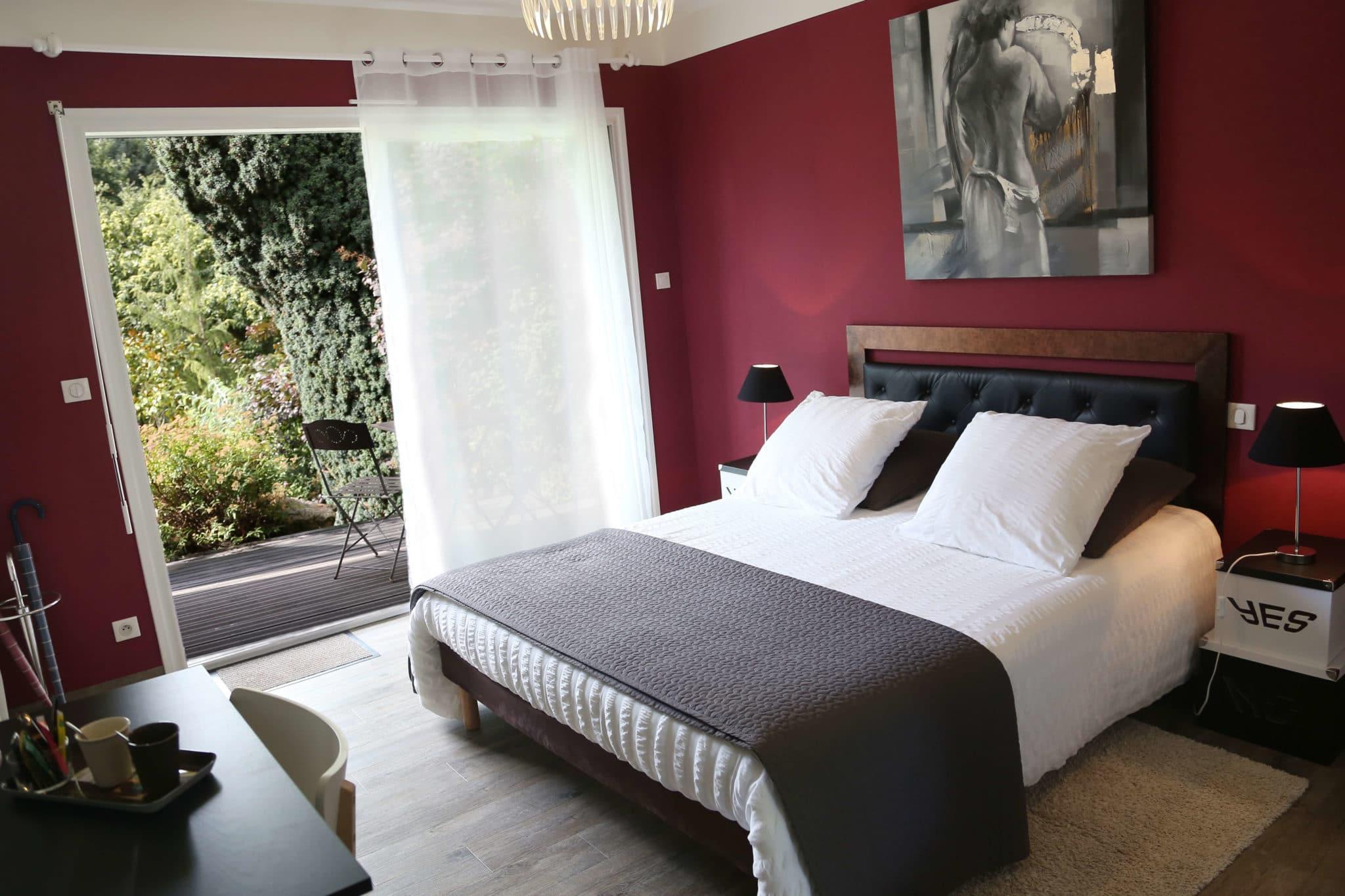 chambre la Désirade, maison d'hôtes en Vendée près du Puy du Fou