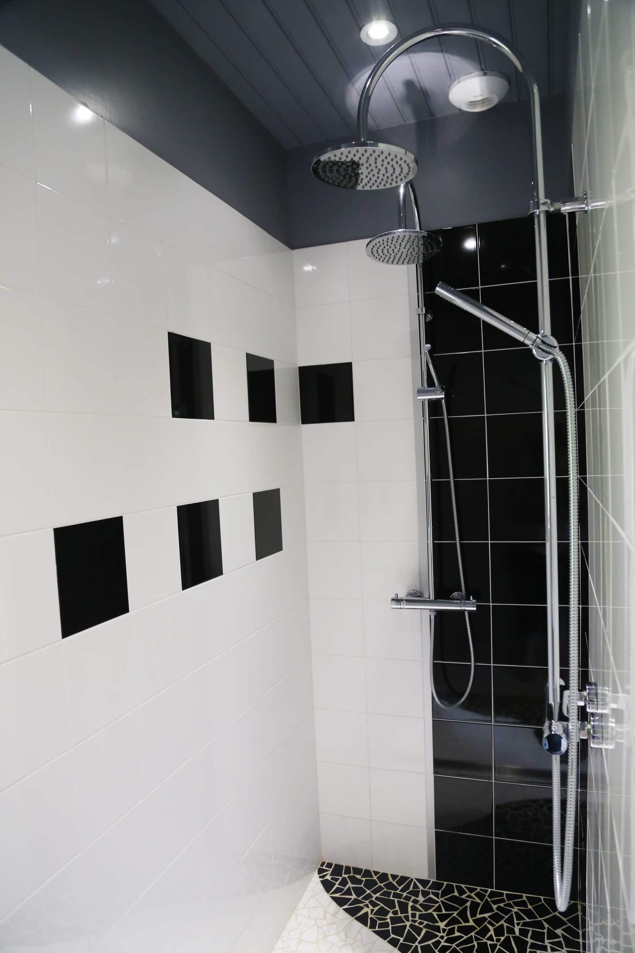 chambre d'hote le logis du parc en Vendée double douche italienne