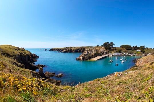 les iles de Vendée: l'île D'Yeu