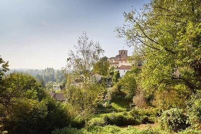 Village du bocage de Vendée : Mouchamps