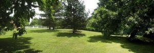 le parc d'une maison d'hotes en Vendée à saint Fulgent