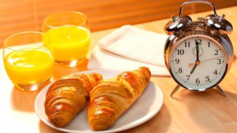 petit déjeuner en chambre d'hôtes à saint fulgent
