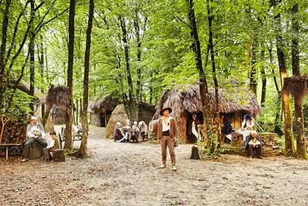 Refuge de Grasla, image des guerres de Vendée