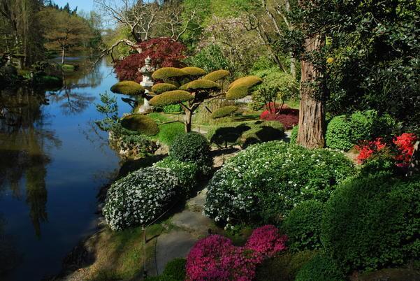 parc de maulévrier magnifique jardin japonais proche du parc du puy du fou