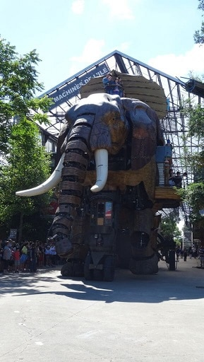 les machines de l'Ile à Nantes à 45km de St fulgent